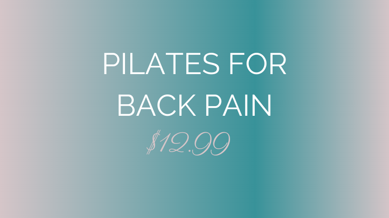 Online Pilates Back Pain