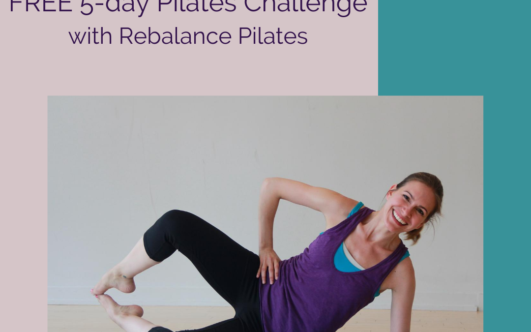 5-day Pilates challenge available for all
